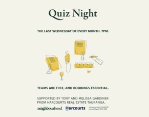 Join us for a Quiz Night!